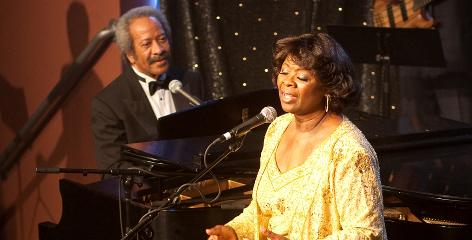 Irma Thomas and Allen Toussaint perform for the soundtrack of HBO series Treme.