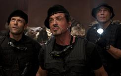 Lionsgate's The Expendables spent two weeks at No. 1 and has grossed $248 million since its August debut. Next up for the studio: The final Saw film and Tyler Perry's For Colored Girls.