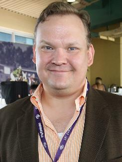 Andy Richter will rejoin Conan O'Brien on the TV host's new late show, which premieres in November on TBS.