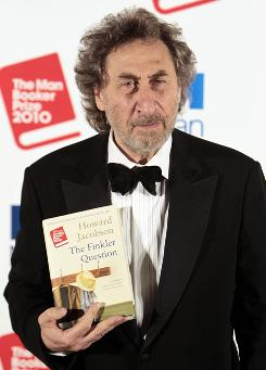British author Howard Jacobson won the prestigious Man Booker Prize for Fiction on Tuesday for his novel The Finkler Question.