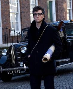 Tortured teen: Aaron Johnson stars as a young John Lennon.