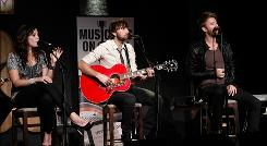 Lady Antebellum performs at City Winery in New York City.
