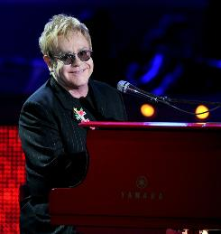Elton John wrote classic songs such as Tiny Dancer and Rocket Man.