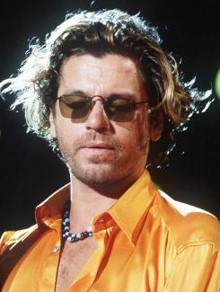 Remembrance: Michael Hutchence, the lead singer and songwriter for INXS, died in 1997 at age 37.