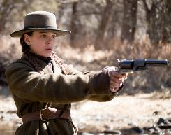 Her aim is true: Hailee Steinfeld stars as Mattie Ross in the Coen brothers' remake of True Grit, a 1969 Western that won John Wayne his only Oscar.