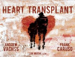 "Cover image to ""Heart Transplant"" from Dark Horse Comics"