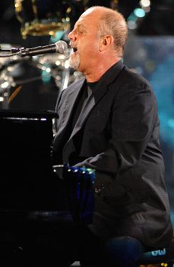 Farewell concert: Billy Joel's Last Play at Shea will play theaters around the country on Thursday.