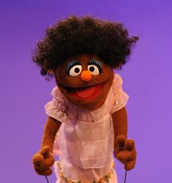 Sesame Street head writer Joey Mazzarino's African-American daughter inspired the song, I Love My Hair.