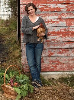 Former Manhattanite Kristin Kimball writes about her new life as a wife and a mother  in The Dirty Life: On Farming, Food, and Love.