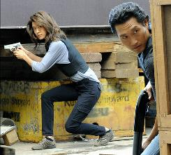 Battlestar: Galactica graduate Grace Park stars as a rookie cop in Hawaii Five-O, the season's top-rated new series.
