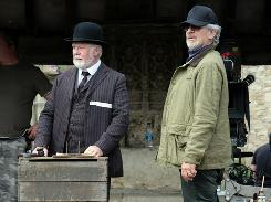 Steven Spielberg, who's been shooting War Horse in England, will move on to Robopacalypse next.