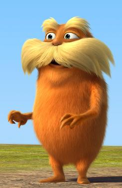 Cautionary tale: The Lorax, voiced by Danny DeVito, warns about threats to the environment. 