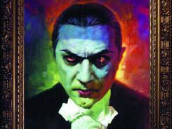 Basil Gogos' rendering of the horror icon on the cover of Bela Lugosi's Tales from the Grave No. 1.