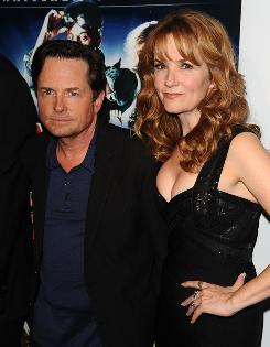 "Michael J. Fox and Lea Thompson look fresh-faced as ever at the Back To The Future 25th anniversary reunion in New York on Oct. 25. ""It was just a great part,"" Thompson says of playing Lorraine Baines McFly in the trilogy. ""It was sad and it was funny and it was sexy  what more could an actress ask for?"""