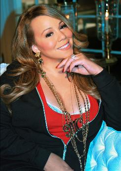 Singer Mariah Carey confirmed last week that she is expecting her first baby in the spring with husband Nick Cannon. And her second Christmas CD is in stores Tuesday.
