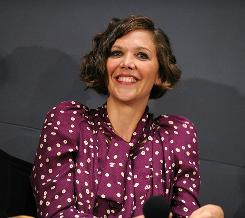 Maggie Gyllenhaal used the BabyBjorn carrier to keep daughter Ramona, 4, safe when she was smaller.