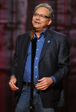 Acerbic comedian Lewis Black's new book, I'm Dreaming of a Black Christmas, is more sentimental than you'd imagine.