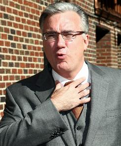 Keith Olbermann is the host of MSNBC's Countdown program.