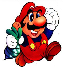 Big leap for his legacy: Super Mario Bros. was the character's most popular game.