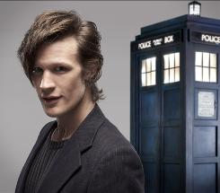 Matt Smith plays the The Doctor on the BBC television series Doctor Who.