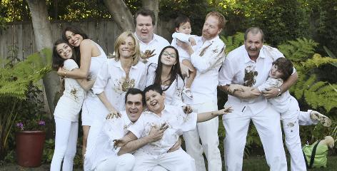 Modern Family, Emmy's new comedy series champ, has attracted 35% more viewers in its second season