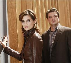 A Castle worth exploring: Castle (Nathan Fillion) and Beckett (Stana Katic) have just the right amount of sexual tension as they solve weekly mysteries in Monday's sole essential series.
