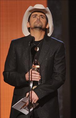 Entertainer of the year Brad Paisley was a big winner at the CMA Awards, which didn't do too badly, either, drawing 16.5 million viewers.