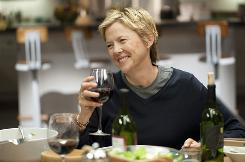 Annette Bening stars in The Kids Are All Right, a comedy about a lesbian couple whose kids go looking for their donor dad.