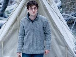 Harry Potter and the Deathly Hallows, Part 1, starring Daniel Radcliffe, was the audience favorite this weekend.