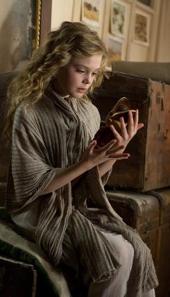 Elle Fanning stars as Mary, who receives a wooden Nutcracker as a gift from her Uncle Albert.  The Nutcracker turns into a prince, whose handle is NC.