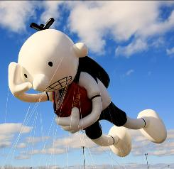 The Wimpy Kid balloon will make its debut in the Macy's Thanksgiving Day Parade.