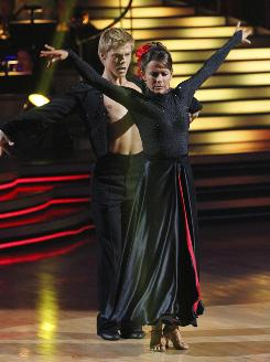 Jennifer Grey and her partner Derek Hough were the big winners on Tuesday's finale of Dancing With the Stars.