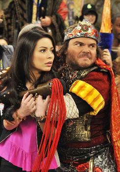 Jack Black reunited with his School of Rock co-star Miranda Cosgrove in iCarly: iStart a Fan War, which attracted an audience of 5 million.