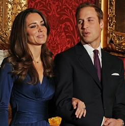 Britain's Prince William and Kate Middleton are planning on getting married in the spring of 2011.