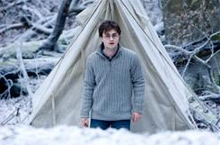 Daniel Radcliffe reprises his role as the young wizard in Harry Potter and the Deathly Hallows, Part I, which retained its No. 1 perch over the long Thanksgiving holiday.