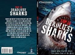 Cover images from Top 10 Deadliest Sharks from Discovery Channel and Silver Dragon Books (Zenescope Comics).