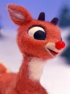 Rudolph: Still has a very shiny nose.
