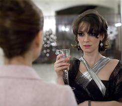Face-to-face with reality: Beth (Winona Ryder) meets Nina (Natalie Portman), the dancer who replaces her in the ballet in Black Swan, which opens Friday in limited release.