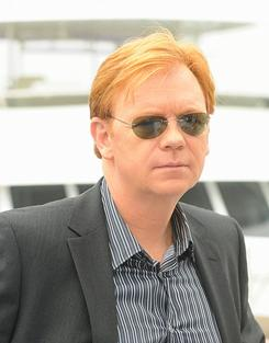 David Caruso: Sunglasses on, for now.