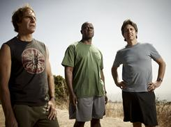 Ready for another lap: TNT's Men of a Certain Age, starring Scott Bakula, left, Andre Braugher and Ray Romano, returns Monday at 10 ET/PT.