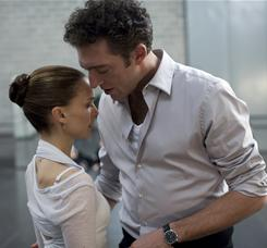 A dancer unhinged: Natalie Portman stars as the troubled Nina, and Vincent Cassel plays Thomas, the director of her ballet company.