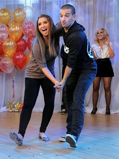 Bristol Palin and her Dancing with the Stars partner, Mark Ballas, show off their moves during a recent appearance on Good Morning America.
