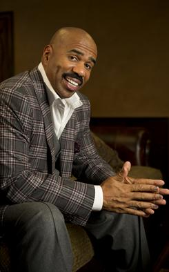 Steve Harvey goes back into the literary arena today with the publication of his new book, Straight Talk, No Chaser. It's the follow-up to his mega-successful Act Like a Lady, Think Like a Man.