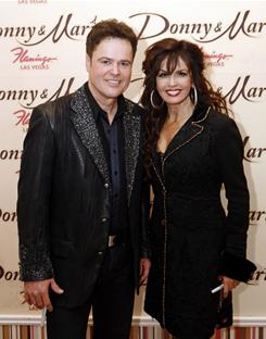 Donny and Marie Osmond appear together for the first time on Broadway in A Broadway Christmas, which harks back to their family-centered TV series.