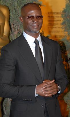 Djimon Hounsou stars in The Tempest with Helen Mirren.