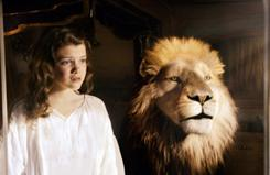The Chronicles of Narnia: Voyage of the Dawn Treader, with Georgie Henley and Aslan the lion, won the weekend with a lackluster showing.