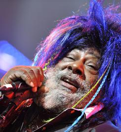 Singer, songwriter and producer George Clinton of Parliament/Funkadelic fame is suing the Black Eyed Peas, claiming they used some of his music in remixes of their song Shut Up.