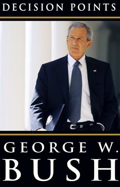 Former president George W. Bush's Decision Points has sold 1.75 million copies since early November.