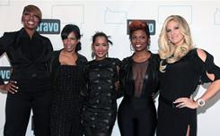 Before The Real Housewives of Atlanta, Kandi Burruss was a successful R&B singer. Here, she hits a Bravo party in New York City with her co-stars, NeNe Leakes, from left, Sheree Whitfield, Lisa Wu Hartwell and Kim Zolciak.