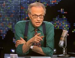 Larry King ended his CNN talk show on Dec. 16.